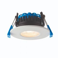 Saxby ShieldPRO 90376 7W CCT Fixed Dimmable Fire Rated LED Downlight