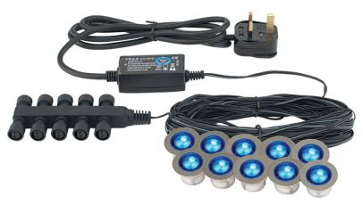 Saxby Lighting 13890 Ikon Round Medium LED Kit Blue