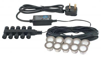 Saxby Lighting 13988 Ikon Round Large LED Kit Daylight White