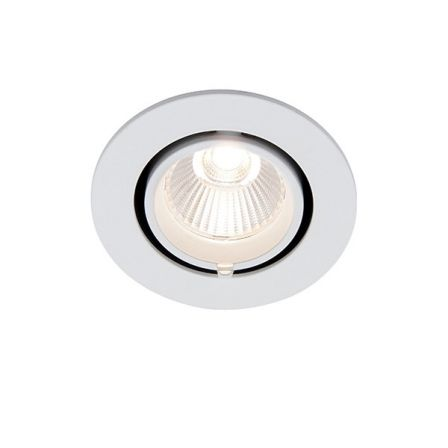Saxby Axial 78538 15W Round Wallwasher COB LED Downlight