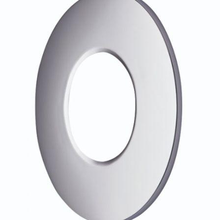 Saxby ShieldPRO 90377 Satin Nickel Bezel for ShieldPRO LED Downlight