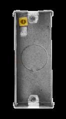 Scolmore WA671 1 Gang Architrave Metal Box 25mm Deep