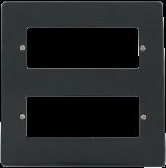 VPAG512 12 Gang Minigrid Front Plate