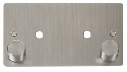 Scolmore Click Define FPSS186 2 Gang Plate 2 Module (1630W Max)