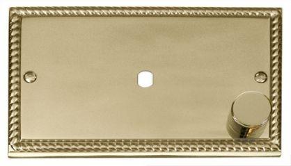 Scolmore Click Deco GCBR185 2 Gang Plate 1 Module (1000W)