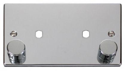 Scolmore Click Deco VPCH186 2 Gang Plate 2 Module (1630W Max)