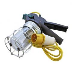 CED GL60HD/110 Inspection Heavy Duty Clamp Lamp c/w 3m Cable & 110V Plug