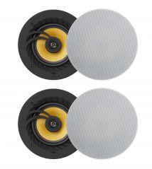 Retrotouch 03202 Lithe Audio Bluetooth 5 Ceiling Speaker 2 x Master & 2 x Slave Set