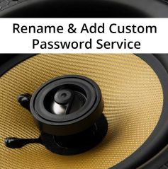 Retrotouch Lithe Audio Bluetooth Renaming & Custom Password Service
