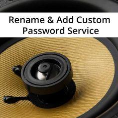 Retrotouch Lithe Audio Bluetooth Renaming & Custom Password Service
