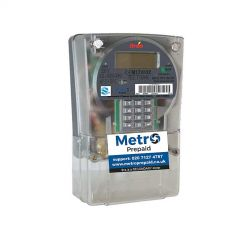 Metro Prepaid Landlord Single Phase Prepayment Meter