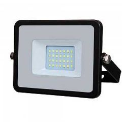 VTAC 20W Black Slimline LED Floodlight with Samsung LED Chip