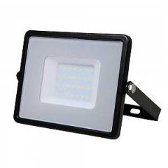 VTAC 30W Black Slimline LED Floodlight with Samsung LED Chip