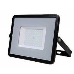 VTAC 50W Black Slimline LED Floodlight with Samsung LED Chip