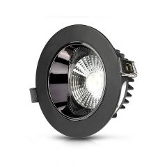 VTAC 30W LED Reflector Adjustable COB Downlight Black Daylight