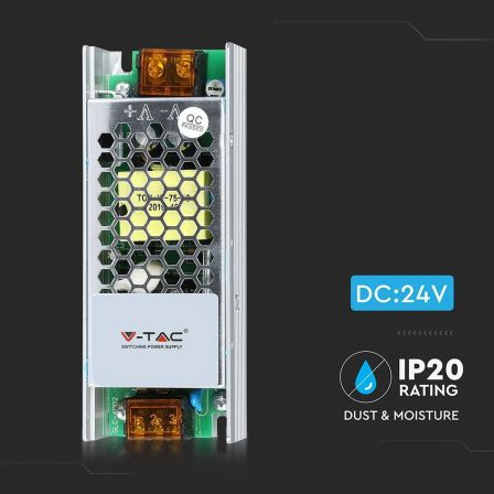 VTAC LED Power Supply 60 Watt AC/DC 12V 5A