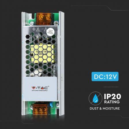 VTAC LED Power Supply 75 Watt AC/DC 12V 6A