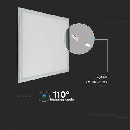 VTAC 45W LED Panel 600x600mm Samsung Chip Daylight 6500K