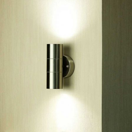 VTAC IP44 Up & Down Stainless Steel Wall Light