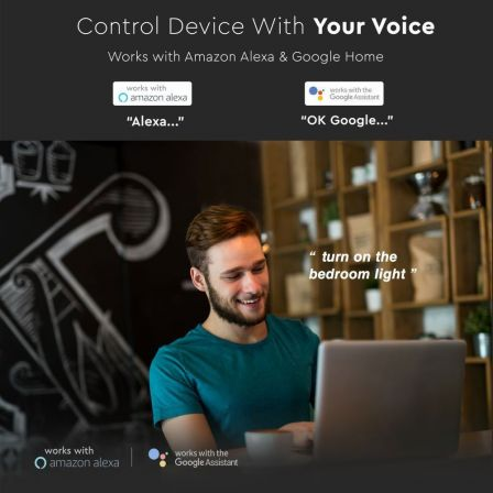 V-TAC WiFi Smart Receiver compatiable with Amazon Alexa & Google Home