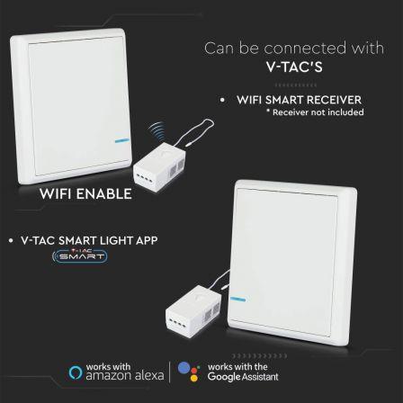 V-TAC 1 Gang Smart Wireless Light Switch White