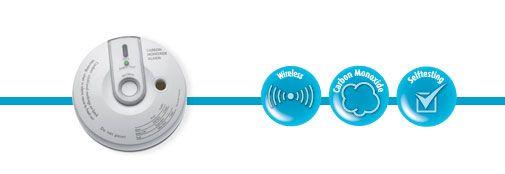 Visonic MCT-442 Carbon Monoxide Detector