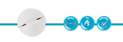 Visonic MCT-426 Smoke Detector