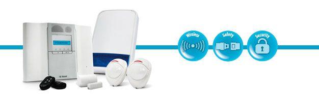 Visonic Wireless Powermax Complete Kit