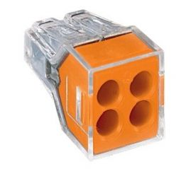 Wago 773-104 4 Way Push Wire Connector