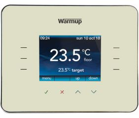 Warmup 3iE Energy Monitoring Thermostat Classic Cream