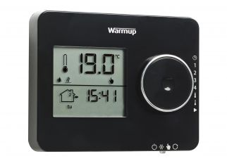 Warmup Tempo Programmable Thermostat Piano Black