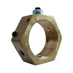 Wiska EN20 Brass Earthing Piranha Nut 20mm