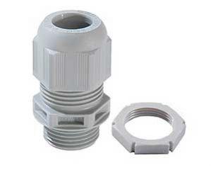 Wiska Sprint Grey 20mm Compression Glands & Locknuts 10 Pack