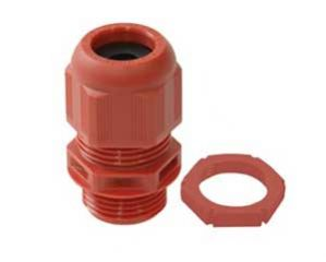 Wiska Sprint Red 20mm Compression Glands & Locknuts 10 Pack