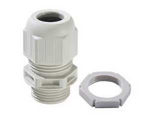 Wiska Sprint White 25mm Compression Glands & Locknuts 10 Pack