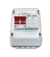 Wylex REC2SPD 100A 2 Way Isolator Switch with Type 2 SPD and Enclosure
