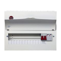 Wylex NM1206FLEXS 18th Edition 12 Way Consumer Unit c/w 100A DP Main Switch & Type 2 SPD