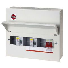 Wylex NMRS7SSLMHI Amendment 3 7 Ways Dual RCD Consumer Unit