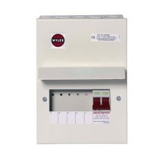 Wylex NM506L Amendment 3 5 Way Consumer Unit c/w 100A DP Main Switch