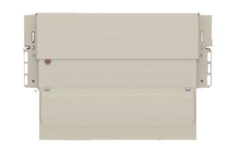 Wylex Amendment 3 10 Ways Skeleton Dual RCD Consumer Unit