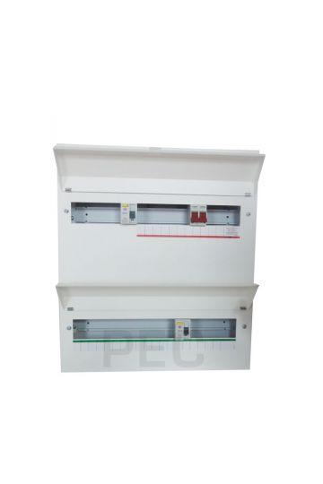 wylex nmdrs36sslhi amendment 3 36 ways duplex dual rcd consumer unit fuse box wiring diagram wylex fuse box rcd #43