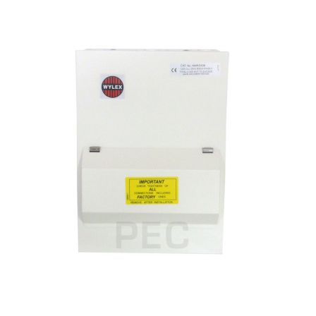 Wylex NMRS506L Amendment 3 5 Way Consumer Unit c/w 100A DP 30mA RCD