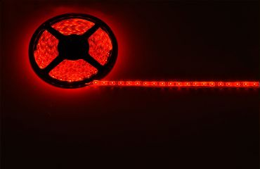 Lyyt IP65 DIY LED Tape 5m Single Colour Red with Mains Power Adaptor