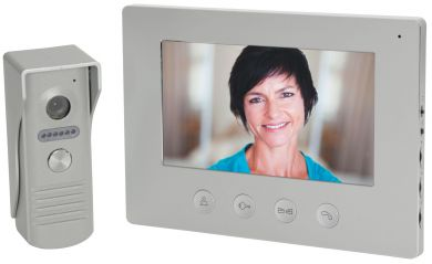 "Mercury 7"" Hard Wired Colour Video Door Entry Kit"