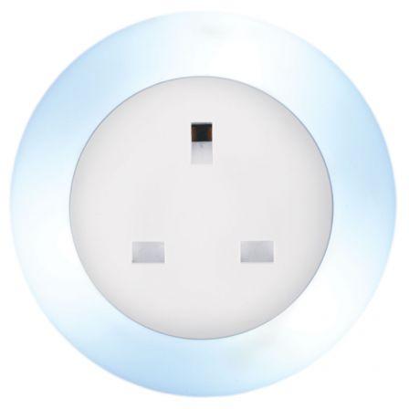 Lyyt Plug Through LED Plug In Night Light Colour Select
