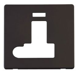 Scolmore Click Definity SCP152BK Switched Conn. Unit With Flex Outlet & Neon Cover Plate Black