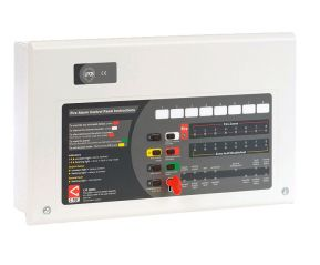 C-TEC AlarmSense 2 Zone Fire Alarm Panel - Bi Wire