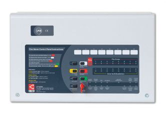 C-TEC CFP Economy 8 Zone Fire Alarm Panel - Conventional