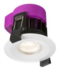 Knightsbridge RW6CW 6W IP65 Fire Rated LED Dimmable Downlight 4000K