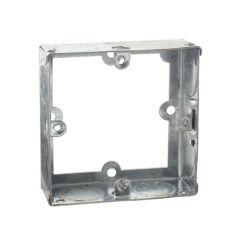 Knightsbridge EG125 1 Gang 25mm Deep Galvanised Steel Extension Box